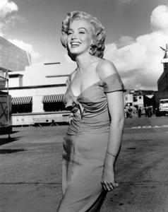 Marilyn Monroecutout on Columbia Studio Lot, c. 1952 / **R.C. - Image 0758_0088