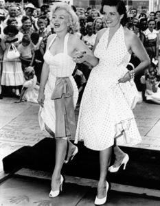 Marilyn Monroe & Jane Russellat Grauman