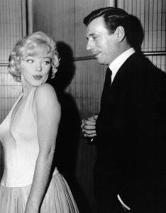"""Marilyn Monroe & Yves Montandpublicity for """"Let"""