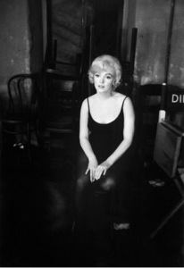 """Marilyn Monroe on the set of """"Let"""