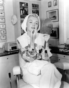 """Marilyn Monroe at the Columbia StudiosMake-Up Dept. for her role in """"Ladies Of The Chorus"""" (1948). - Image 0758_0194"""