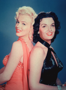 """Marilyn Monroe and Jane Russellpublicity still for """"Gentlemen PreferBlondes.""""1953 / 20th Century FoxPhoto by Emerson Hall - Image 0758_0198"""