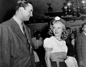 """Marilyn Monroe with William Halop""""Dangerous Years""""1948 / 20th Century Fox - Image 0758_0217"""