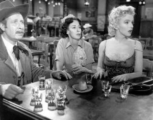Marilyn Monroe with Eileen Heckart & Arthur O