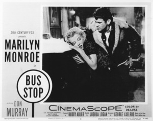 """Marilyn Monroe and Don Murray lobby card for""""Bus Stop"""" 1956 / 20th Century Fox - Image 0758_0220"""