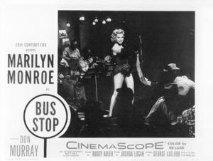 "Marilyn Monroe lobby card from ""Bus Stop""1956 / 20th Century Fox - Image 0758_0221"