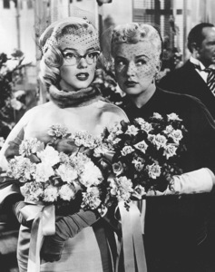 """Marilyn Monroe and Betty Grable""""How To Marry A Millionaire""""1953 / 20th Century Fox - Image 0758_0227"""