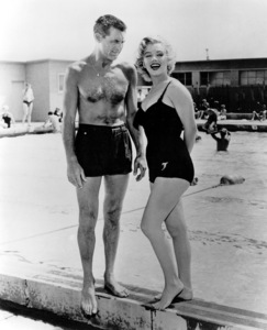 """Marilyn Monroe with Cary Grant""""Monkey Business""""1952 / 20th Century Fox - Image 0758_0260"""