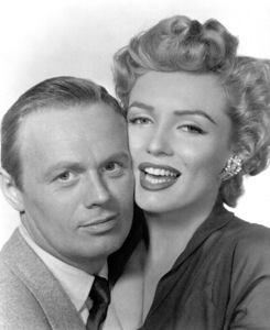 "Marilyn Monroe with Richard Widmark""Don"