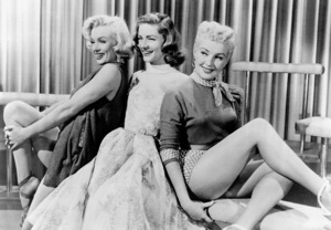 """Marilyn Monroe, Lauren Bacall, & Betty Grable""""How To Marry A Millionaire""""1953 / 20th Century Fox - Image 0758_0313"""