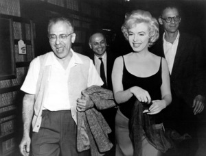 Marilyn Monroe with George Cukorand Arthur Miller, c. 1959. - Image 0758_0358