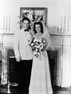 Marilyn Monroe and 1st husbandJim Dougherty, married on June 19, 1942. - Image 0758_0363
