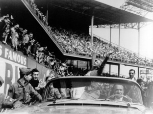 Marilyn Monroe at Ebbets Field,  N.Y.on May 12, 1957 for a soccer matchbetween America and Israel. - Image 0758_0369
