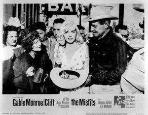"""Misfits, The"" Movie PosterMarilyn Monroe, Clark Gable1961 / United Artist - Image 0758_0377"