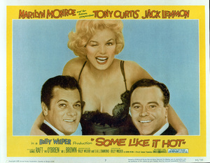 """Some Like It Hot""Movie Poster1959 / 20th Century Fox - Image 0758_0382"