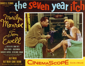 """Seven Year Itch, The""Movie poster1955 / 20th Century Fox - Image 0758_0384"