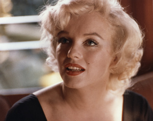 """Marilyn Monroe at a press conference for """"Some Like It Hot""""1959 - Image 0758_0401"""