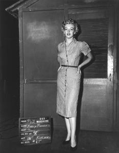 """Marilyn Monroe wardrobe test for""""Clash By Night""""1952 RKO. - Image 0758_0440"""