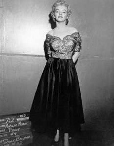 """Marilyn Monroewardrobe test for """"Clash By Night""""1952 RKO / **R.C. - Image 0758_0441"""
