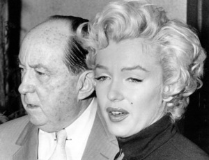 Marilyn Monroe and Jerry Giesler during her split wiht DiMaggio, October 6, 1954. - Image 0758_0465