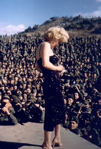 Marilyn Monroe in Korea, 1954. - Image 0758_0500