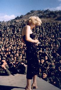 Marilyn Monroe in Korea, 1954. - Image 0758_0500