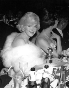 Marilyn Monroe at theGolden Globe Awards in 1960 awardedfor Best Actress in a Comedy or Musical. © 1978 David Sutton - Image 0758_0506