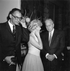 "Arthur Miller, Marilyn MonroeAt party for ""Let"