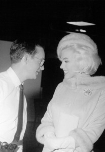Marilyn Monroe with Wally Cox 6-5-62. - Image 0758_0537