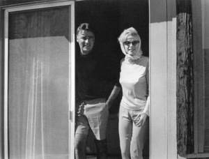 Marilyn Monroe  and Peter Lawford at the  Cal Neva Lodge, 1962. © 1978 Ted Allan