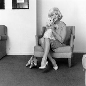Marilyn Monroe with Maf Honeyat the Beverly Hills Hotel, 1961. © 1978 Eric Skipsey - Image 0758_0573