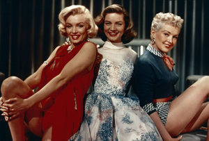 """How to Marry a Millionaire""Marilyn Monroe, Lauren Bacall, Betty Grable1953 20th Century Fox - Image 0758_0611"