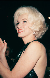 Marilyn Monroe at theGolden Globe Awards in 1962. © 1978 Bernie Abramson - Image 0758_0614