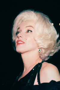 Marilyn Monroe at theGolden Globe Awards in 1962. © 1978 Bernie Abramson - Image 0758_0620