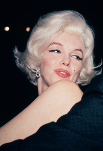 Marilyn Monroe at theGolden Globe Awards in 1962. © 1978 Bernie Abramson - Image 0758_0622