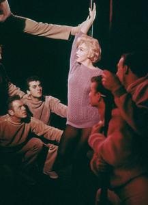 "Marilyn Monroe with dancersin ""Let"