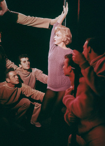 "Marilyn Monroe with dancersin ""Let"
