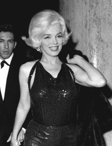 Marilyn Monroe with Mexican writerJose Bolanos at a Hollywood Party,March 1962. - Image 0758_0783