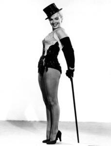 "Marilyn Monroe  in a publicity still for ""Gentlemen Prefer Blondes,"" 1953. - Image 0758_0788"