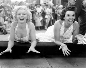 Marilyn Monroe, Jane RussellGrauman Chinese Theater, June 26, 1953. - Image 0758_0809