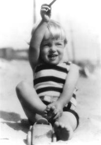 Marilyn Monroe2 yrs. old at Santa Monica Beach, 1928 - Image 0758_0819