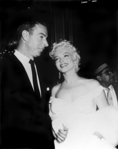 """Joe DiMaggio and Marilyn Monroe at """"The Seven Year Itch"""" premiere1955** I.V. - Image 0758_0830"""