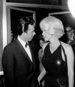 Marilyn Monroe with Jose Bolanos a screenwriter she met in Mexico and thenbrought back to Los Angeles as an escort to the Golden Globe Awards in 1962. - Image 0758_0867