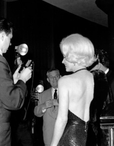 Marilyn Monroe with Jose Bolanos a screenwriter she met in Mexico and thenbrought back to Los Angeles as an escort to the Golden Globe Awards in 1962. - Image 0758_0868