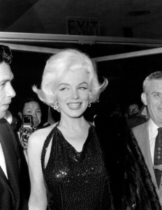 Marilyn Monroe with Jose Bolanos a screenwriter she met in Mexico and thenbrought back to Los Angeles as an escort to the Golden Globe Awards in 1962. - Image 0758_0869
