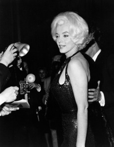 Marilyn Monroe with Jose Bolanos a screenwriter she met in Mexico and thenbrought back to Los Angeles as an escort to the Golden Globe Awards in 1962. - Image 0758_0870