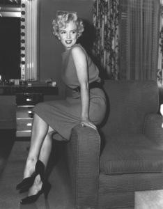 Marilyn Monroe during her return to work at Twentieth Century Fox, 4/15/54.**I.V. - Image 0758_0964