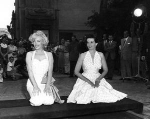 Marilyn Monroe, Jane Russellcirca 1953** I.V. - Image 0758_1046