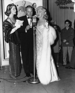 "Lauren Bacall and Marilyn Monroe at the premiere of ""How to Marry a Millionaire""circa 1953** I.V. - Image 0758_1061"