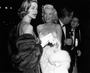 "Lauren Bacall and Marilyn Monroe at the premiere of ""How to Marry a Millionaire""circa 1953** I.V. - Image 0758_1067"
